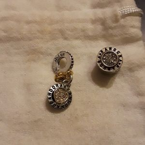 European charms used (see listing)